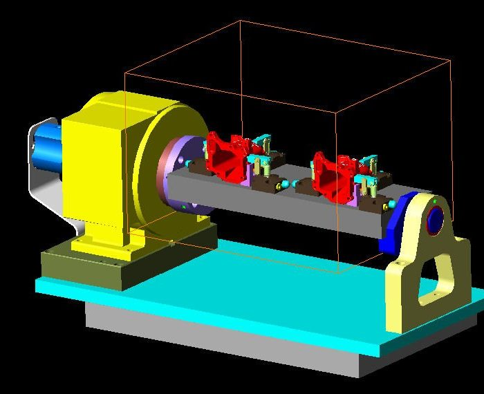 Die Casting 4th Axis Fixture Concept-A