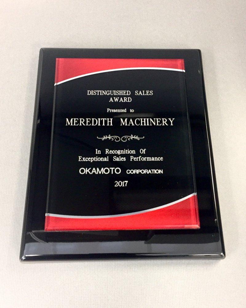 Okamoto-distinguished-sales-award-Meredith-Machinery