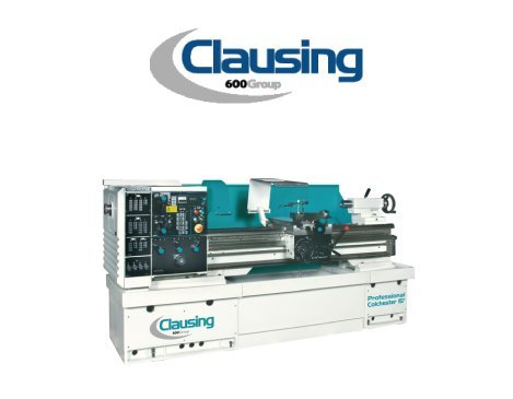 clausing cnc lathe meredith machinery