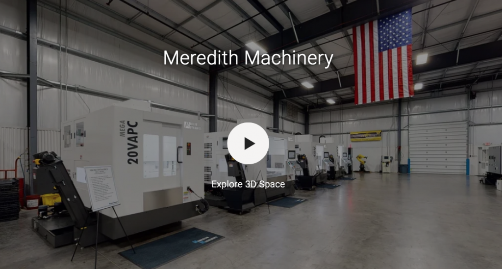Meredith Machinery 3D Virtual Tour Showroom